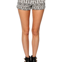 Papaya Clothing Online :: BOHEMIAN PRINT SHORTS