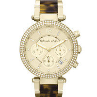 Michael Kors Golden Parker Glitz Watch