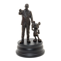 Walt Disney and Mickey Mouse 'Partners' Bronze Statue   Disney Store