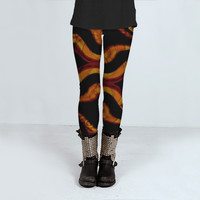 Tribal Style Pattern by Daniel Ferreira-Leites (Leggings)