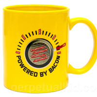 POWERED BY BACON MUG