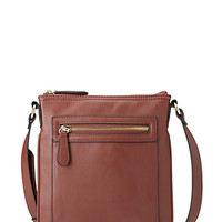 Voyager Faux Leather Crossbody