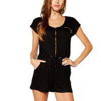 Papaya Clothing Online :: ESSENTIAL ZIPPERED ROMPER