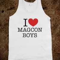 I HEART LOVE MAGCON BOYS TANK TOP (IDC100338)