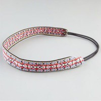 FULL TILT Embroidered Ribbon Headband
