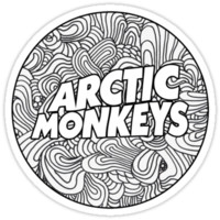 Arctic Monkeys - Swirls Logo