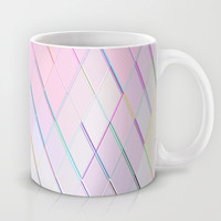 Re-Created Vertices No. 5 Mug by Robert S. Lee