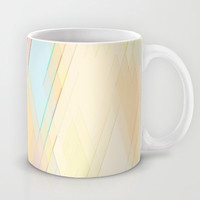 Re-Created Vertices No. 7 Mug by Robert S. Lee