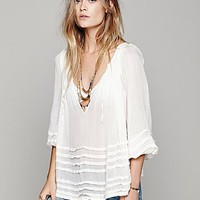 Free People Womens FP ONE Tie That Binds Blouse -
