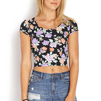 Garden Party Crop Top