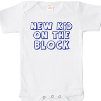 New Kid on the Block Baby Bodysuit, One Piece, Baby Apparel