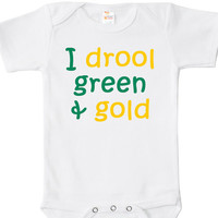 Green Bay Packers Baby Bodysuit, One Piece, Baby Apparel