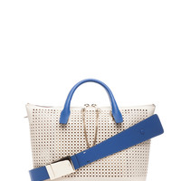 Baylee Shoulder Bag in Husky White