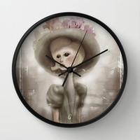 Bloom in the City Wall Clock by Ben Geiger