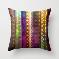 Joy Throw Pillow by SensualPatterns