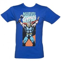 Men's Marvel Thor Neon Panel T-Shirt From Jack Of All Trades : TruffleShuffle.com