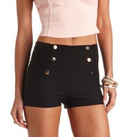 STRETCHY HIGH-WAISTED SHORTS