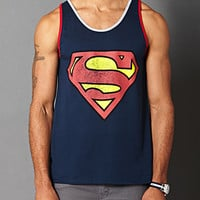 Cotton-Blend Superman Tank