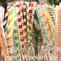 New Designer Straw Multipacks & More! Over 130 Designs!