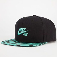 Nike Sb Icon Mens Snapback Hat Black Combo One Size For Men 23198914901