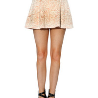 Papaya Clothing Online :: PAISLEY FLARE SKIRTS