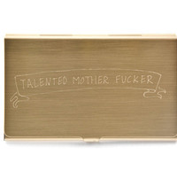TALENTED MOTHERFUCKER CARD CASE
