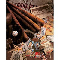 Art 4 Kids Baseball Cards Wall Art - 22001 - All Wall Art - Wall Art & Coverings - Decor