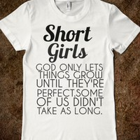 SHORT GIRLS