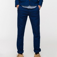 United / Dark Indigo Twill Chinos