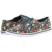 Vans Classic Authentic Lo Pro Floral Multi Youths Trainers