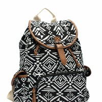 Aztec Print Backpack
