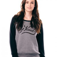 Be Kind Slouchy Sweatshirt