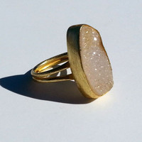 Cinnamon Druzy Ring | ZOE Boutique