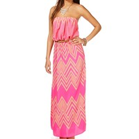 Pre-Order PinkTaupe Belted Maxi Dress