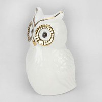 Ceramic Owl Bank White One Size For Women 23832415001