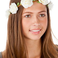 ASTORIA FLOWER HEAD WRAP