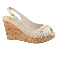 Rachel canvas knot wedge