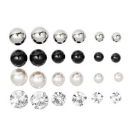 12-pack Earrings - from H&M