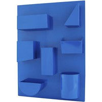 I Could've Bin a Wall Organizer (Blue) in Shelves & Hooks | The Land of Nod