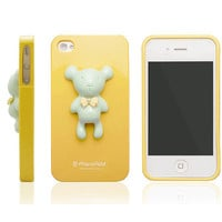 Alice Pastel Special Honey Bear Case for iPhone 4 / 4S - Yellow