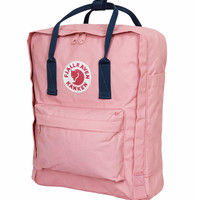 Fjallraven Classic Kanken Backpack Bag - Pink and Royal Blue
