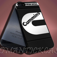 Cummins Turbo Diesel Dodge Truck Ram - iPhone 4/4s/5c/5s/5 Case - Samsung Galaxy S3/S4 Case - Black or White