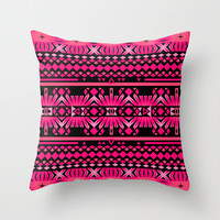 Mix #559 Throw Pillow by Ornaart