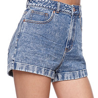 Bullhead Denim Co Mom White Noise Shorts at PacSun.com