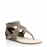 Weave It To Us T-Strap Sandals