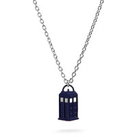 "Doctor Who 3D TARDIS 18"" Necklace"