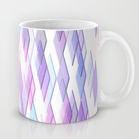 Re-Created Vertices No. 13 Mug by Robert S. Lee