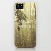 Get lost with me #2 iPhone & iPod Case by Armine Nersisian