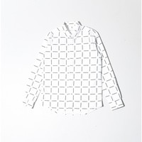 crosby point print shirt