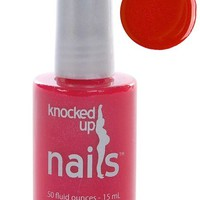 Maternity Safe Nail Polish – Nail for Pregnancy – Shimmery Red : Knocked Up Nails